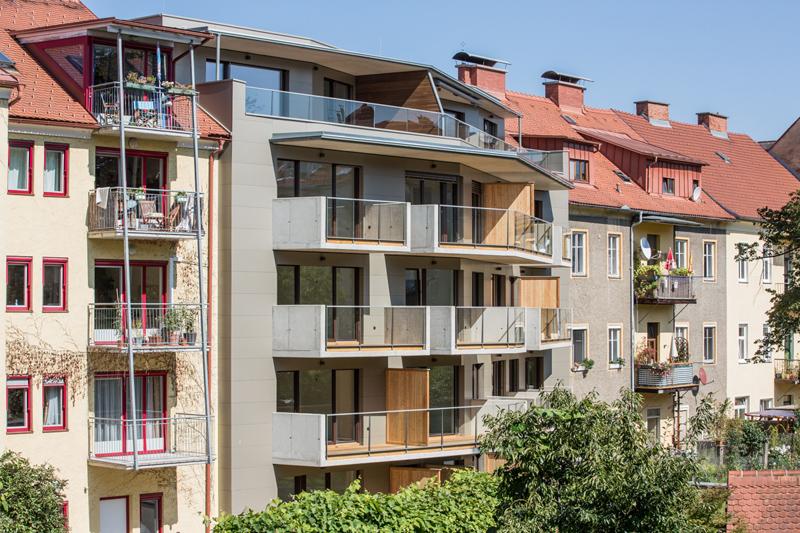 Wohnbau Schörgelgasse Graz 04